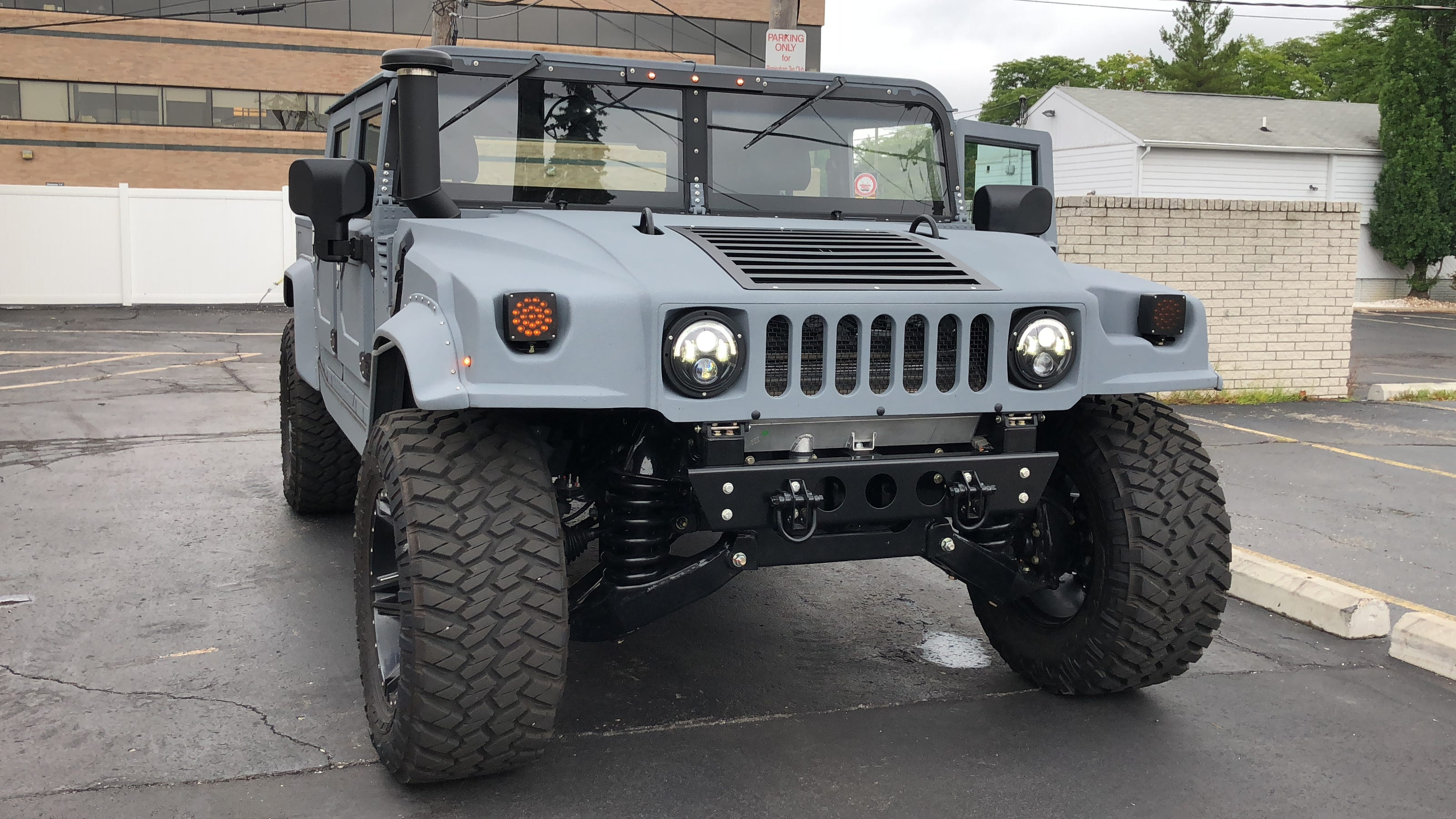 Hummer H1 SUV is back, and outrageous in new ways