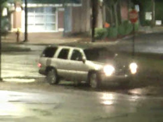 The thieves arrived in a large SUV, such as a Chevy Tahoe or a GMC Yukon, and then smashed through the window, investigators said.