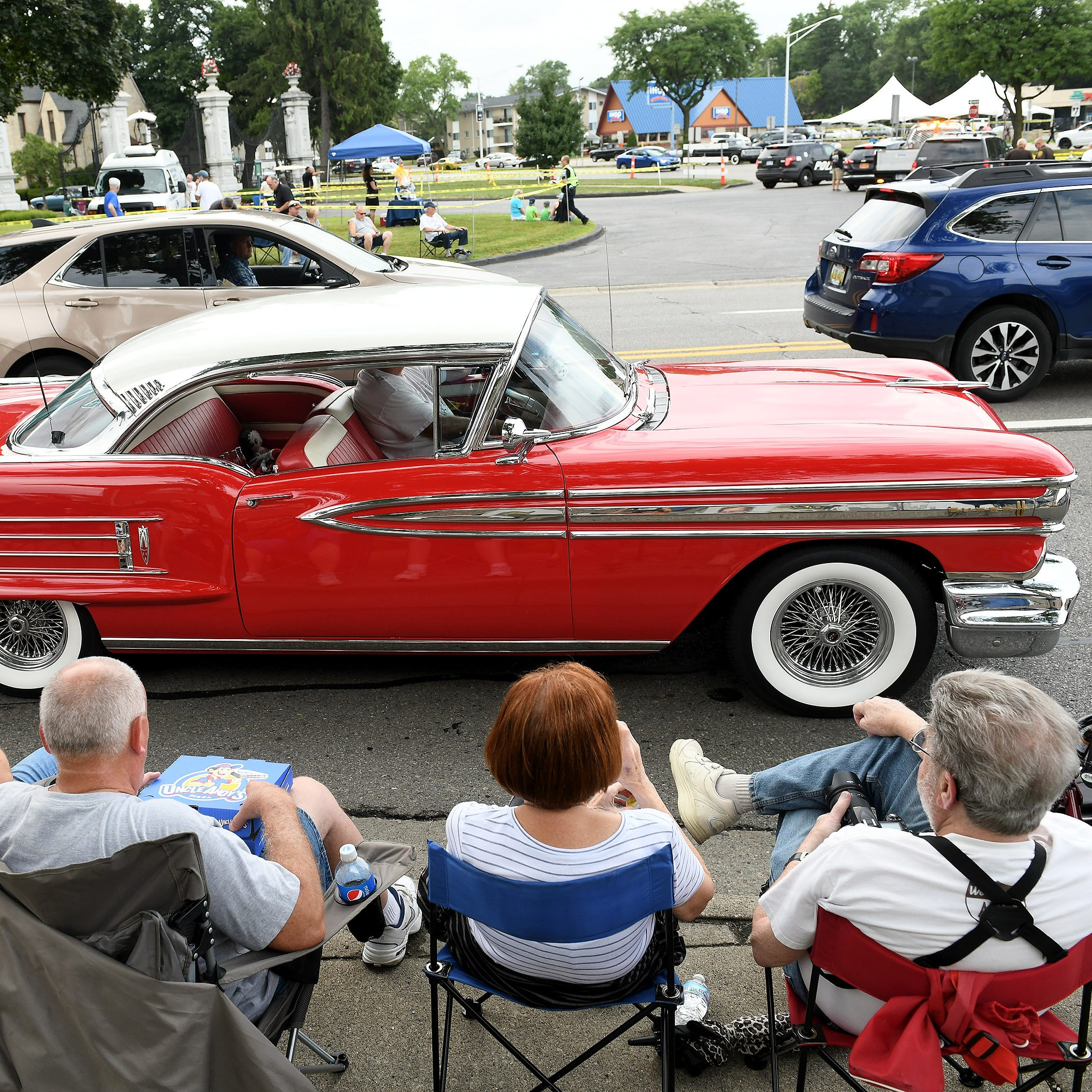 Interest in Woodward Dream Cruise driven by nostalgia, history, love of cars