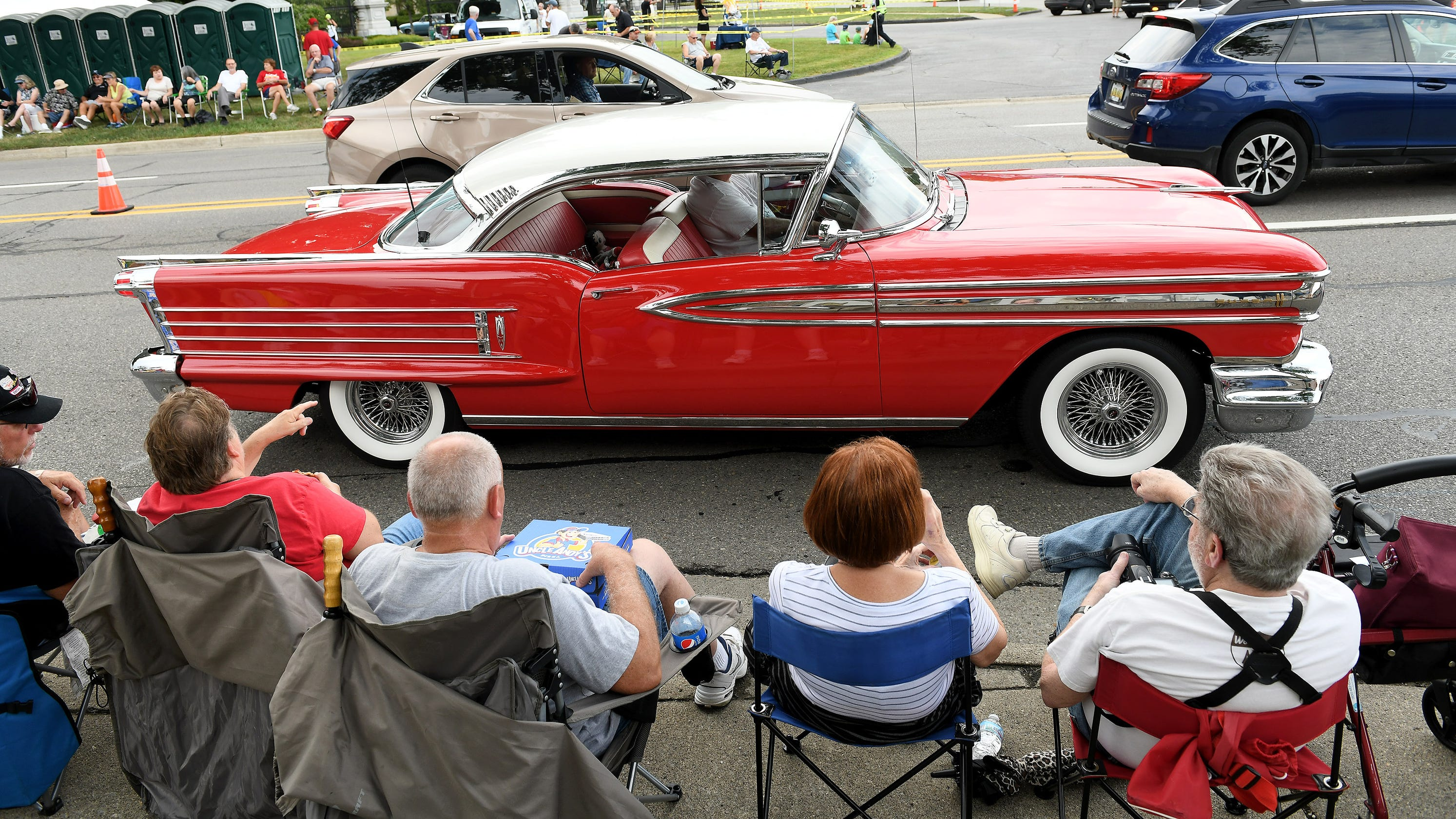 Interest In Woodward Dream Cruise Driven By Nostalgia History Love Of Cars