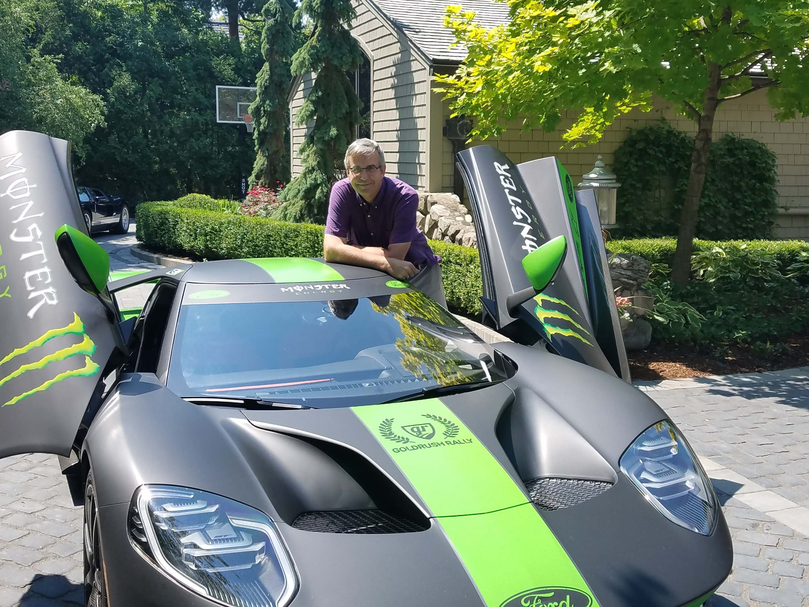 Detroit News auto critic Henry Payne got Kurt Busch's permission to take his Ford GT for a quick spin around Oakland County streets.