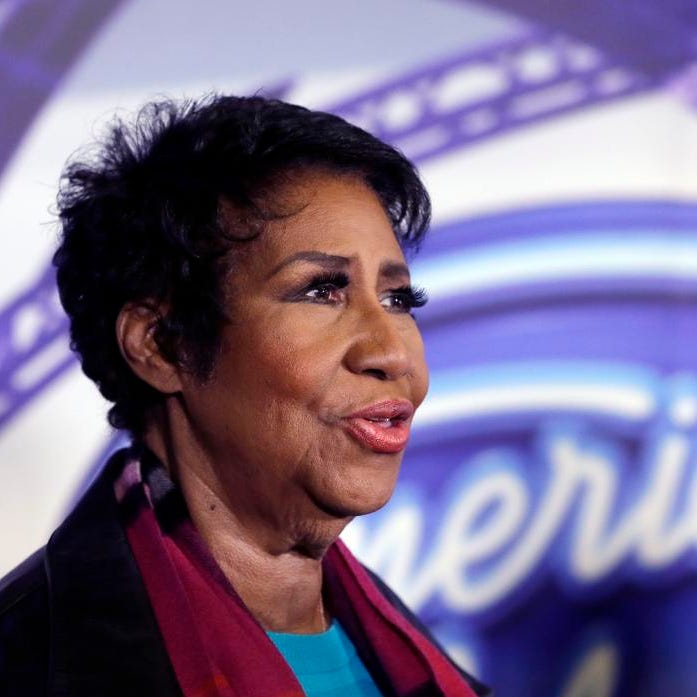 Graham: Even in her later years, Aretha stayed current