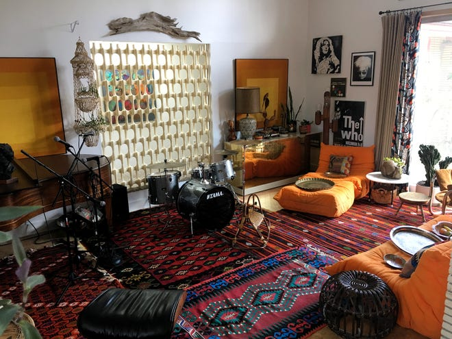"""Organizers call this 1963 home on the tour """"untouched and untamed."""""""