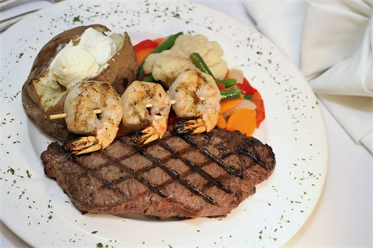 Think Greek food might be weird? It's not, but you can always enjoy a steak, chop, seafood, some Italian pasta and other perfectly American dishes at the Acropolis.