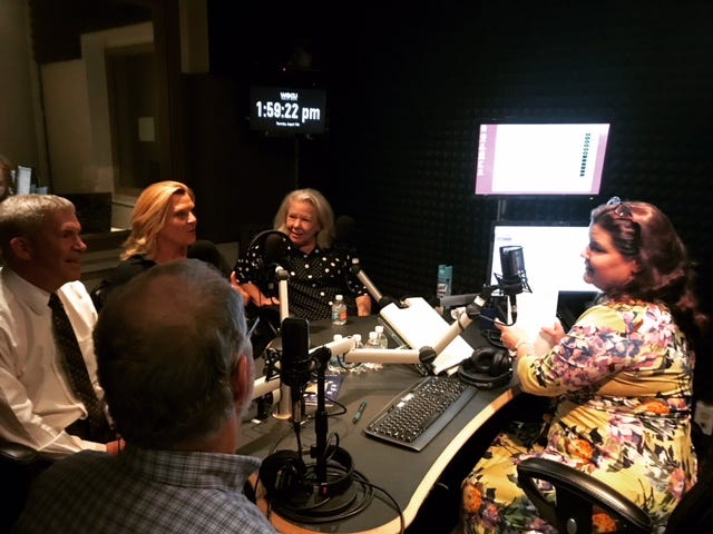 Several members of the Southwest Florida media participated in a conversation about attacks on the media on WGCU's Gulf Coast Live on Thursday, Aug. 16. The show is hosted by WGCU News Director Julie Glenn.