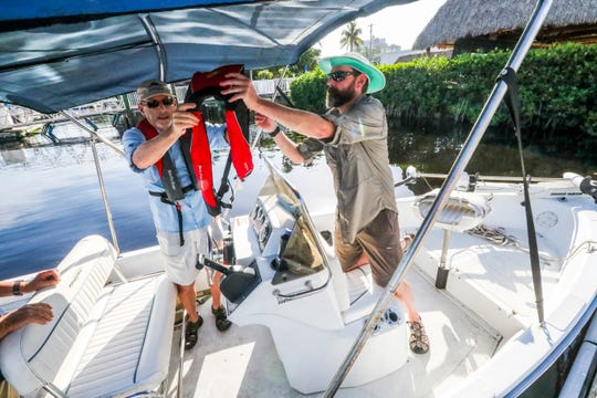 James Metcalf, an internationally acclaimed expert on the brain damage caused by toxic algae headed out to sample the Caloosahatchee's bloom. They are took a look at the public health implications of the ongoing water crisis.
