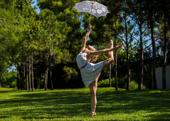 """Sami Doherty, of Cape Coral, co-owner of Melody Lane Performing Arts Center, will be performing in a circus show entitled """"Circus TransformUs"""" which will play for two days at Broadway Palm (Aug. 25-26)."""