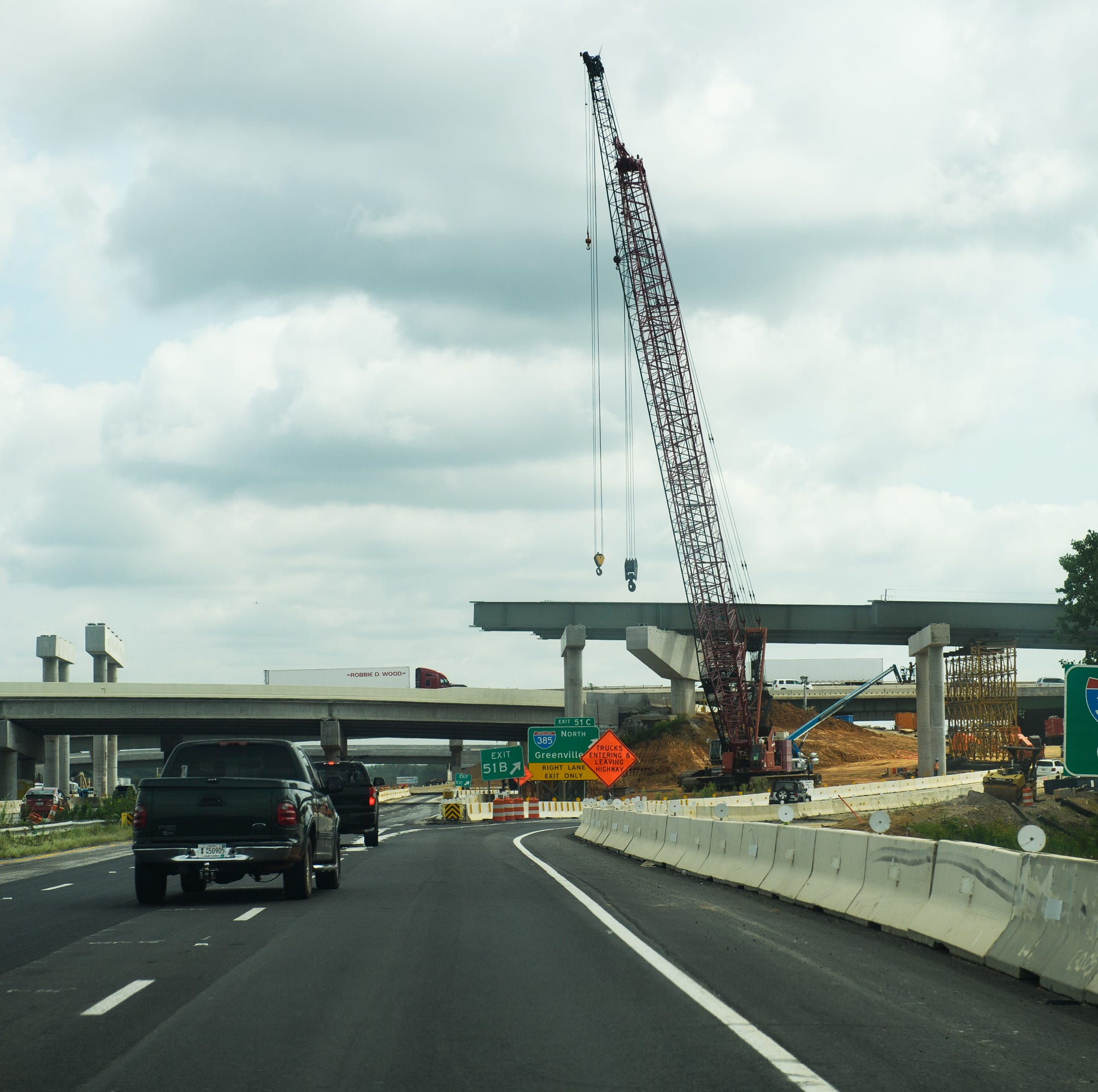 Your headaches at the 85-385 interstate interchange are going to last longer and cost more