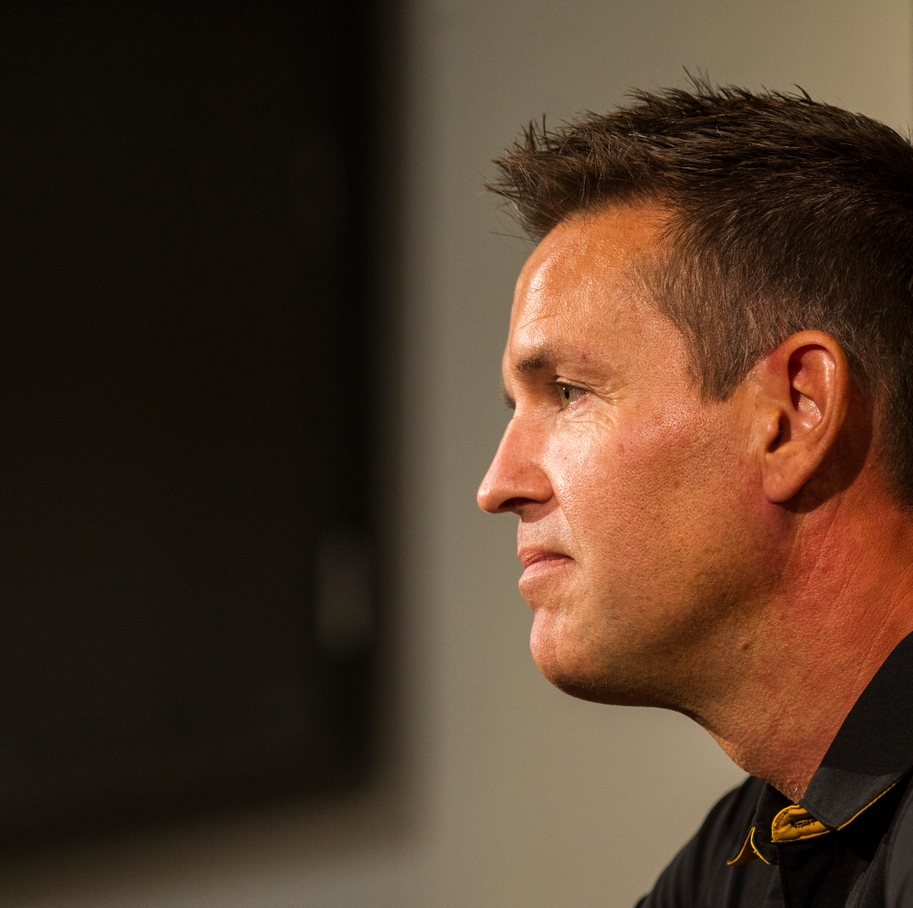 Iowa volleyball coach Bond Shymansky on administrative leave for 'significant' NCAA violation