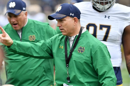 Ncaa Football Notre Dame Spring Game