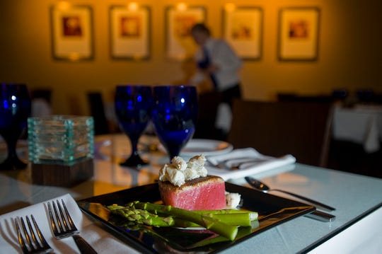 The blackened yellowfin tuna with jumbo lump crab at Ely's Restaurant and Bar in Ridgeland will not disappoint a discerning palate.