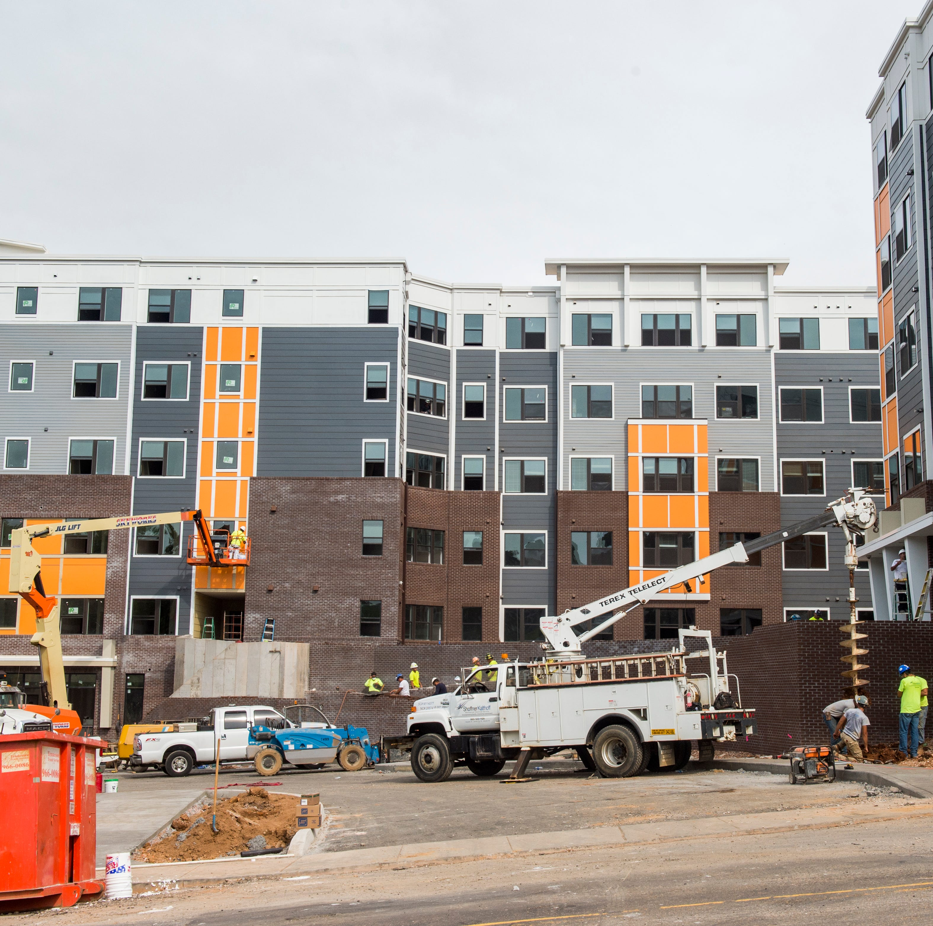 University of Tennessee, Knoxville campus undergoes several major construction projects
