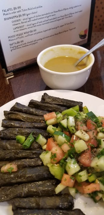 Amers Lentil Soup And Dolmas