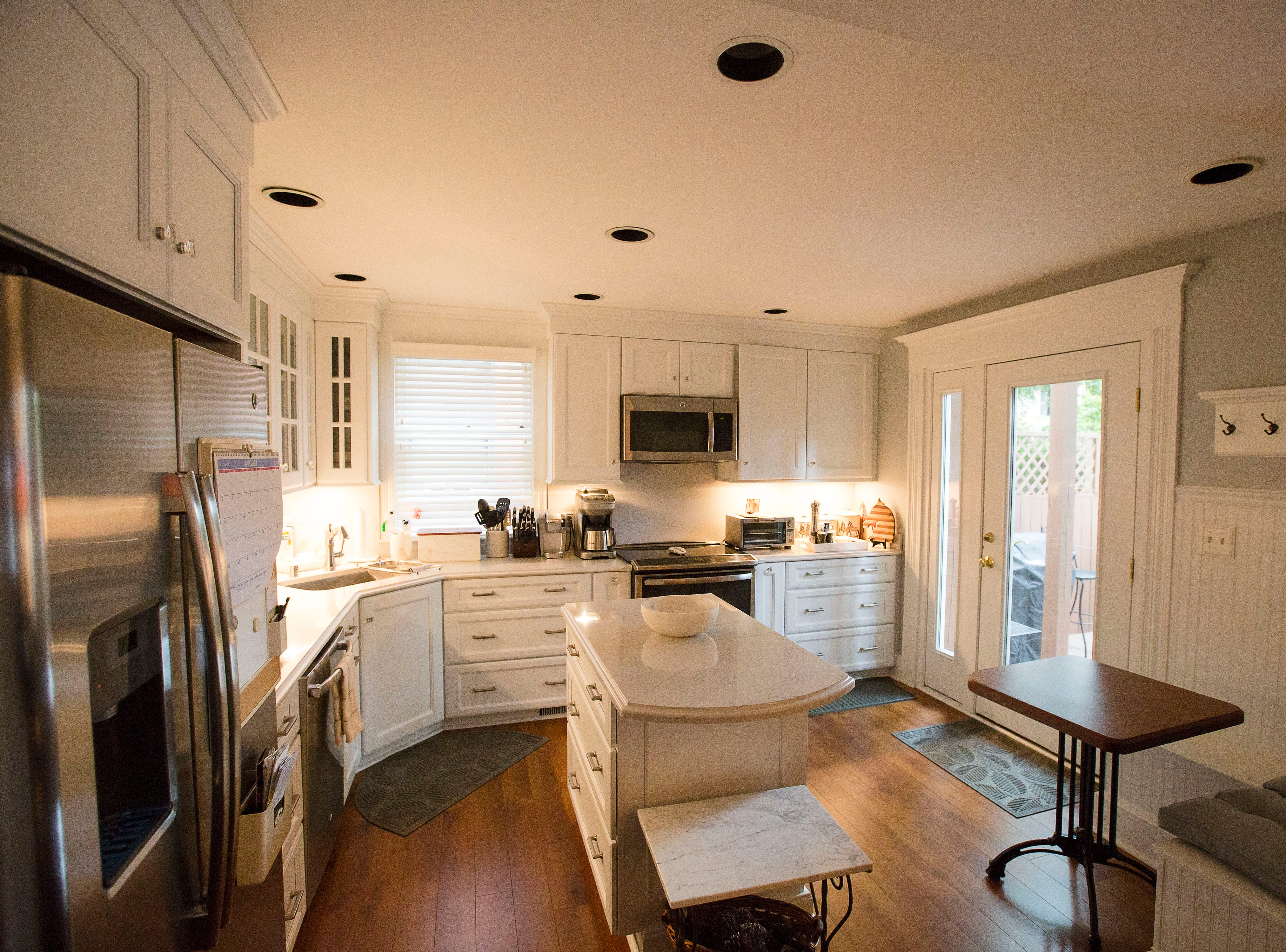 Remodeled kitchen at victorian home in historic Cherokee Triangle in Louisville, KY.