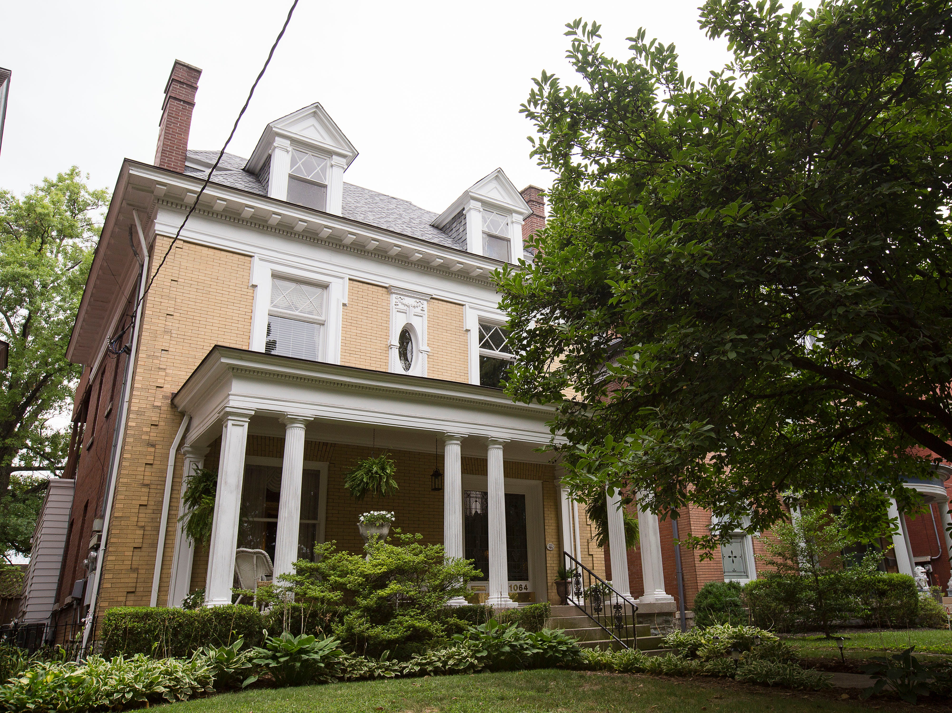 Victorian home in historic Cherokee Triangle  in Louisville, KY.