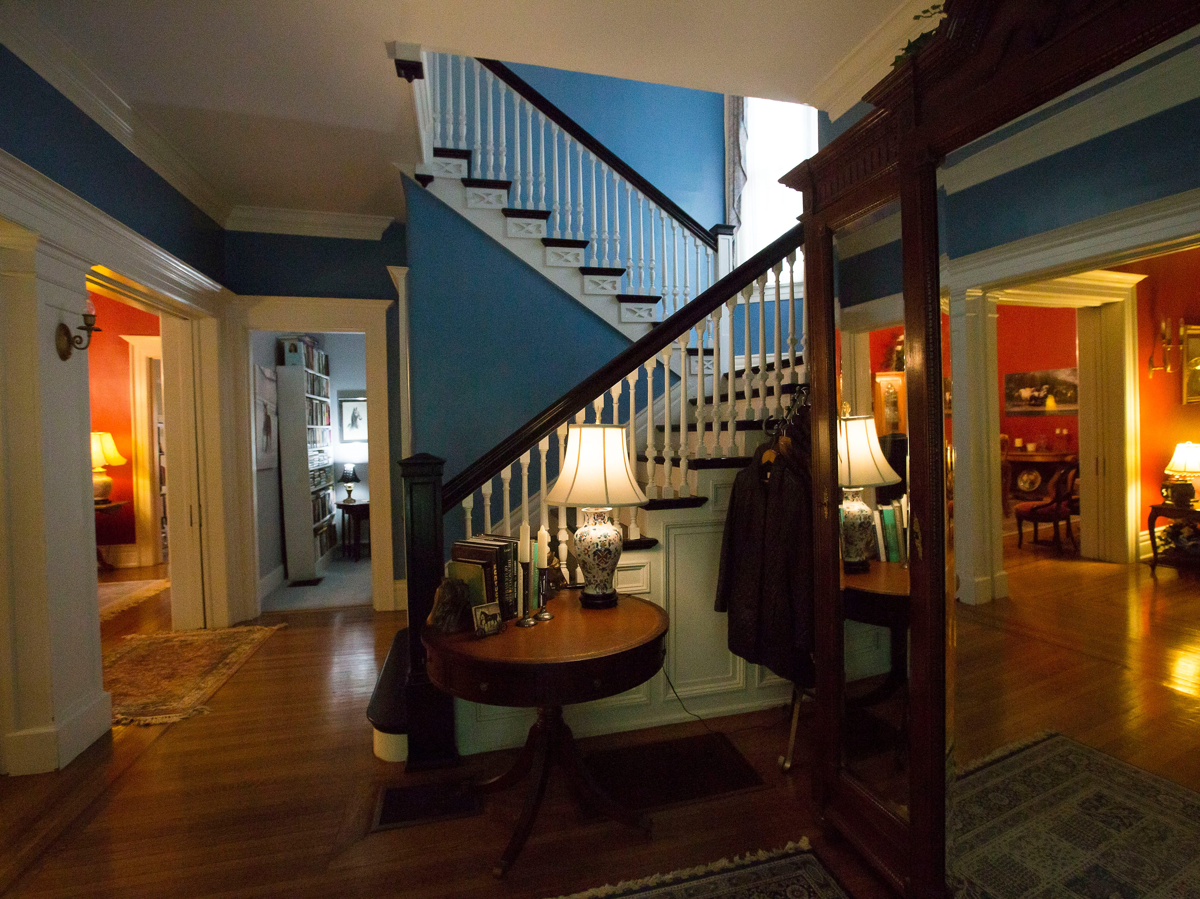 Entryway  historic Cherokee Triangle home  in Louisville, KY.