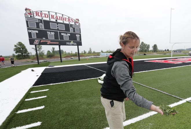 Pulaski Athletic Director Janel Batten is among the less than 15 percent of athletic directors in the state who are female.