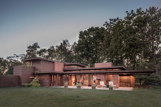 Still Bend, Frank Lloyd Wright's Life magazine dream house in Two Rivers, also known as Schwartz House.