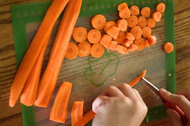 Today's recipe for Marinated Carrots uses many Vitamin A rich-carrots, and the bonus is you have a convenient and super healthy side dish in the fridge for weeks to come.