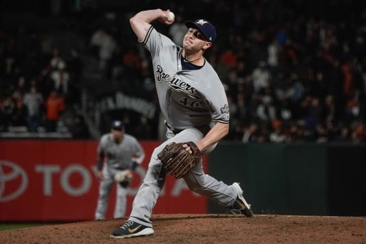Mlb Milwaukee Brewers At San Francisco Giants