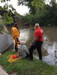 Heavy rains cause flooding around Watertown and Ixonia