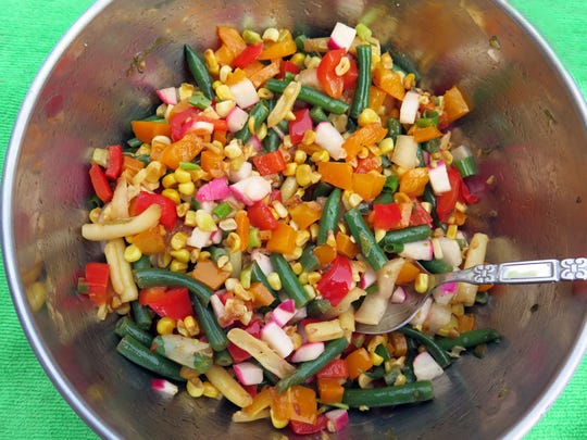 Kind of Corny Green Bean Salad earned its creator a $100 cash prize.