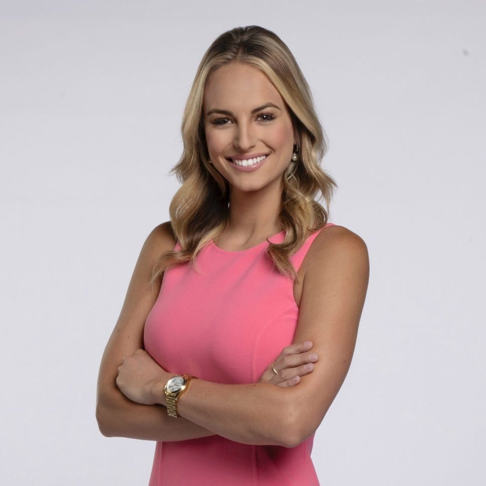 Bucks new sideline reporter Katie George was star volleyball player, Miss Kentucky