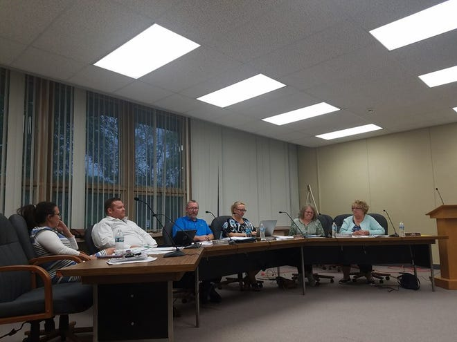 The Lisbon Town Board discusses marketing and selling the Pauline Haass land itself at an Aug. 16 town board meeting. Previous proposals by multiple real estate agents called for selling the land at more than $1 million.