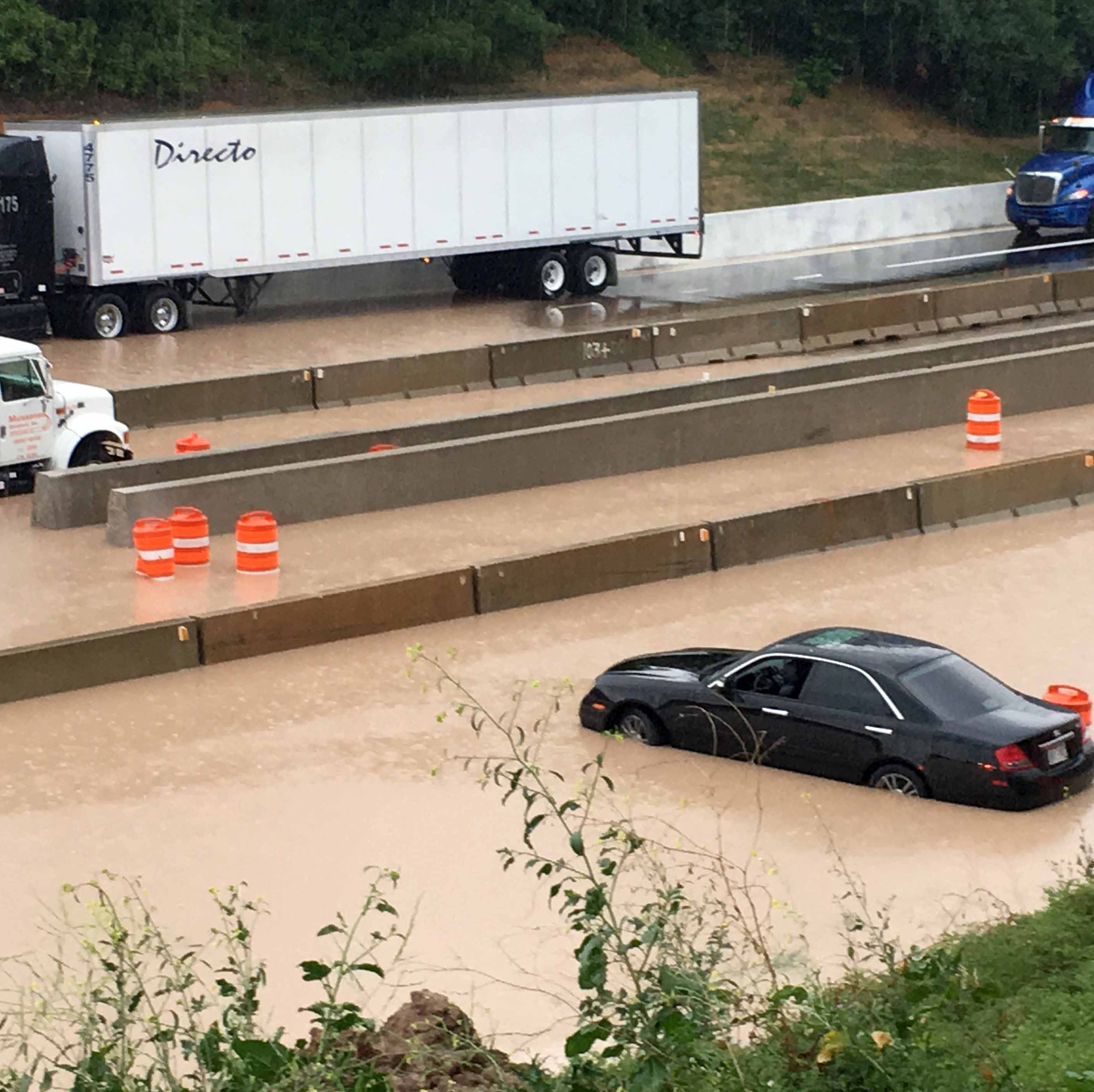 There was a plan to prevent flooding at an I-43 construction site. Mother Nature had other ideas
