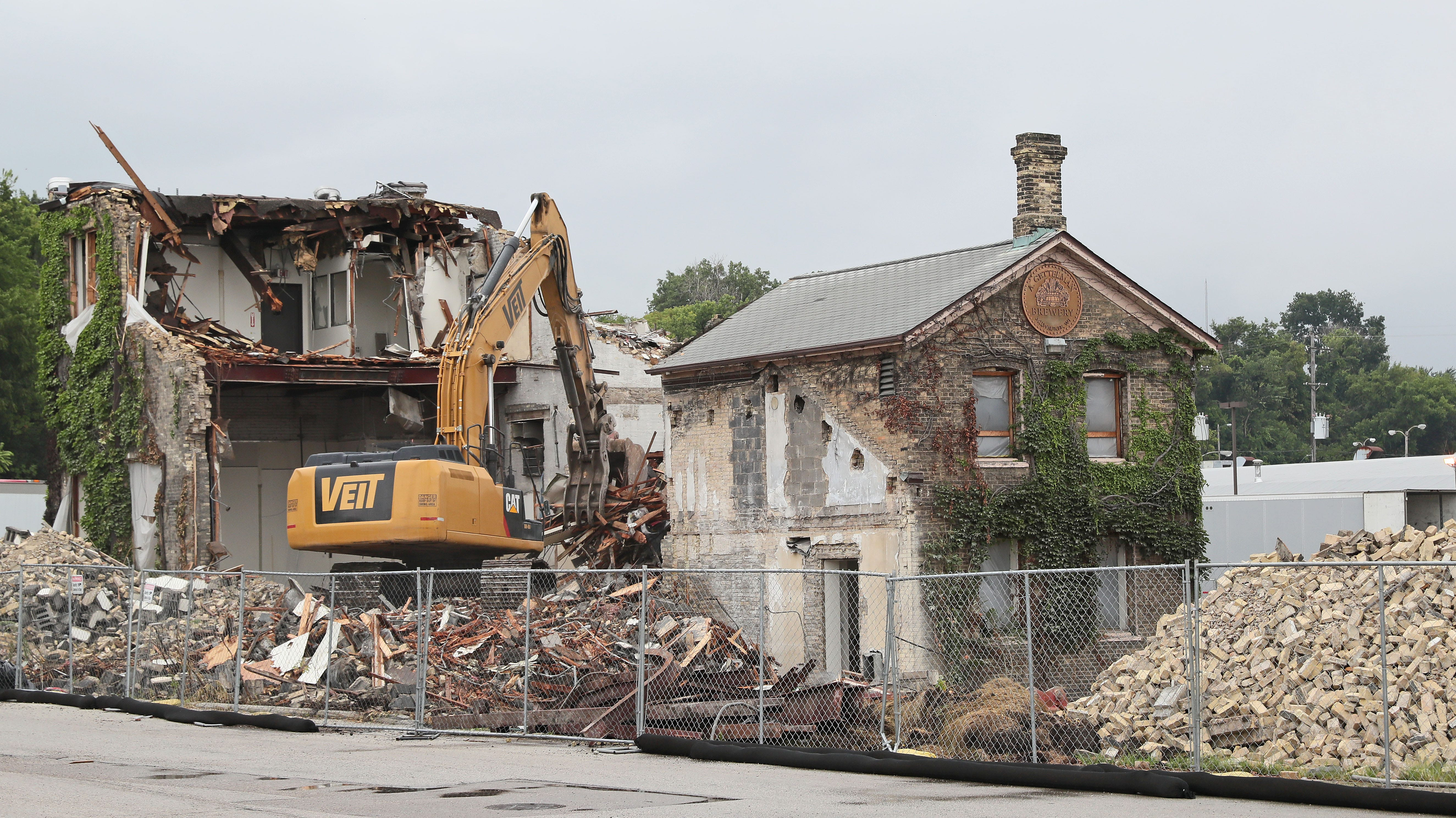 The historic Gettelman brewery building isn't moving after all; it'll be renovated instead