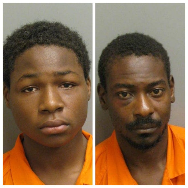 Jay'Shun Edwards and Taketrin Bivins were each charged with two counts of capital murder in the robbery and shooting death of 29-year-old Samuel James.