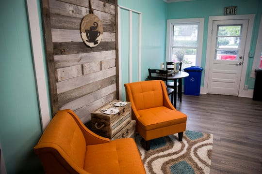 Coffee Breeze, a new coffee shop opening in downtown Yorktown, can seat up to 15 patrons inside in addition to outdoor bistro seating. A wide array of drinks and pastries are available for purchase.