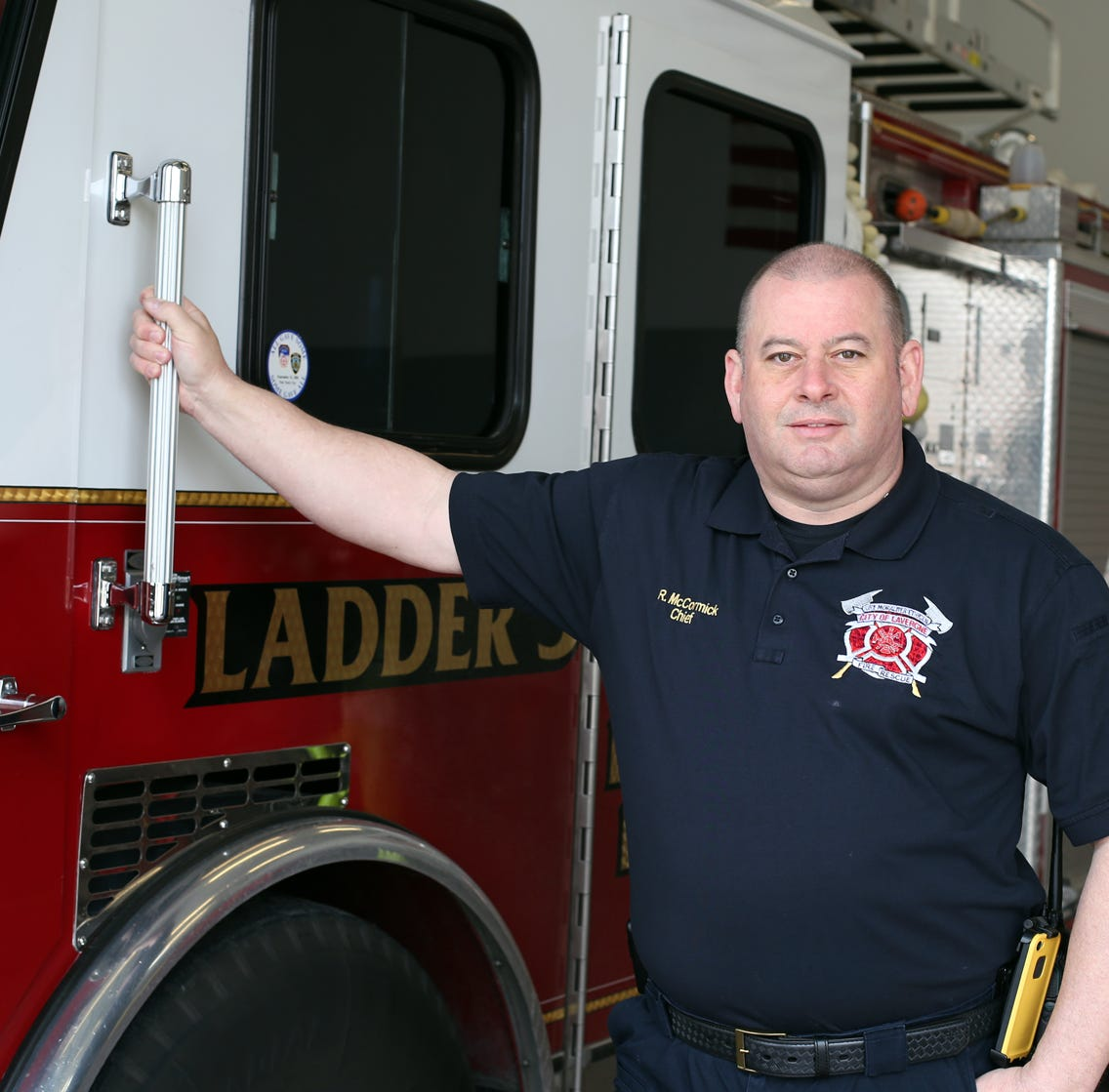 Rick McCormick, served as a firefighter with La Vergne Fire Department for 20 years before being named chief in 2013.