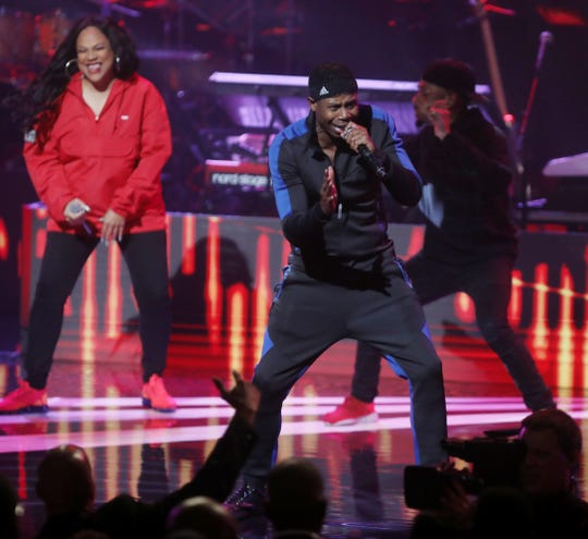 Doug E. Fresh performs at the Black Music Honors at TPAC Thursday Aug. 16, 2018.