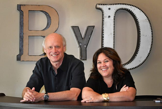 Kerry O'Neil and Carla Wallace co-founded Big Yellow Dog Music, which is celebrating its 20th anniversary in August.
