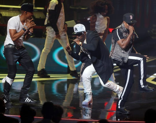Bell Biv DeVoe performs at the Black Music Honors at TPAC Thursday August 16, 2018.
