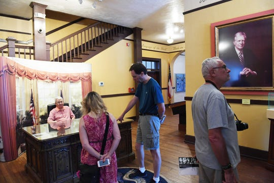 The Jimmy Carter National Historic Site in Plains, Ga., draws nearly 70,000 visitors a year and $4 million into the county's economy.