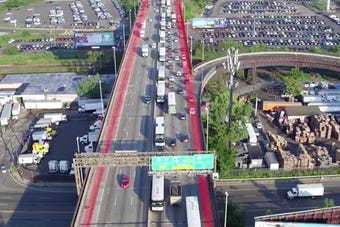 An overview of the Route 495 construction project, provided by the New Jersey Department of Transportation.