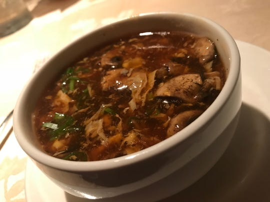 Hot and Sour Soup at Hunan Taste in Denville.