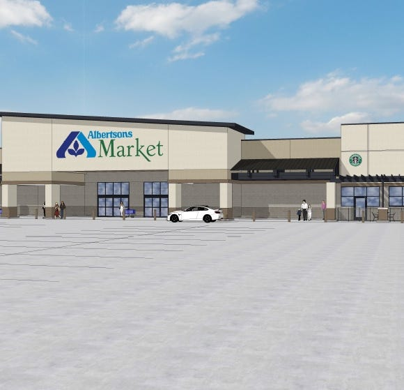 Construction of new Albertsons Market set for November