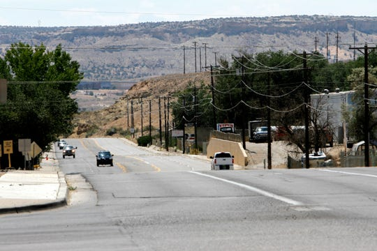 A section of La Plata Highway is pictured, Friday, Aug. 17, 2018 near the Pinon Hills Boulevard intersection in Farmington.