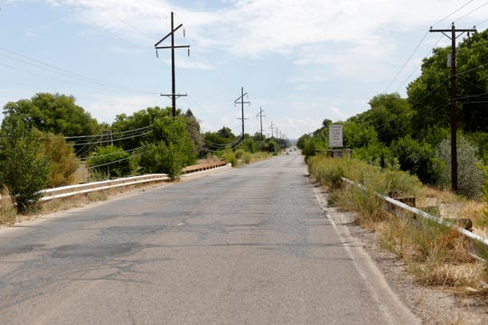 The East Blanco Boulevard bridge is pictured, Friday, Aug. 17, 2018 in Bloomfield. The city of Bloomfield must replace the East Blanco Bridge, which Public Works Director Jason Thomas describes as functionally obsolete. The entire project, which is currently broken into phases, will cost $2.78 million.