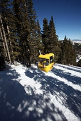 The gondola at Ski Apache near Ruidoso offers thrills and views in summer and winter.