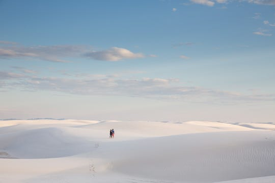 White Sands National Monument is on the list of thirty.
