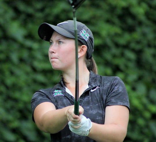 Flushing native and Marshall University sophomore Kerrigan Parks captured the Michigan Amateur Women's Championship in a playoff against Dearborn's Elayna Bowser.
