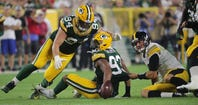 Packers-Steelers postgame chat: Reggie Gilbert's impact hard to ignore