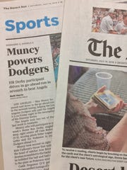 Desert Sun readers weigh in on Sports coverage.