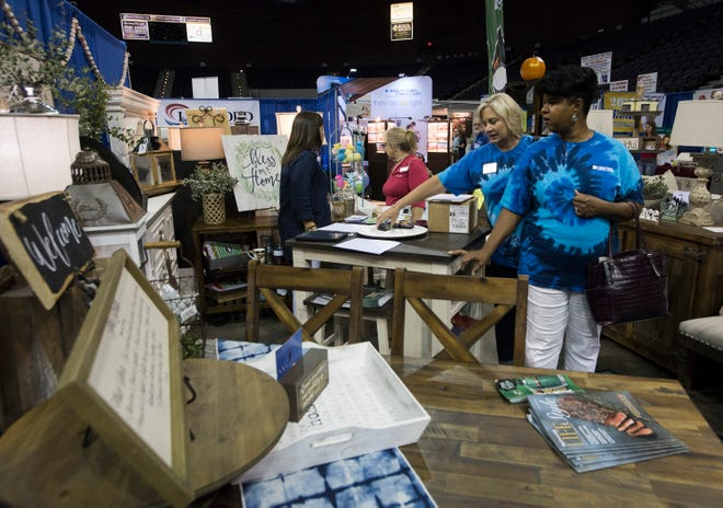 The 2018 Home and Products Expo is underway at the Pensacola Bay Center on Friday, Aug. 17, 2018. The three-day event features exhibits with some of the newest and latest products and services geared to individuals and businesses looking to remodel or build.