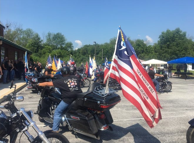A motorcycle ride to benefit Homes For Our Troops was recently held in York and Hanover. The organization presented Army Sgt. Lyndon Sampang with the keys to his new Gettysburg house on Aug. 11.