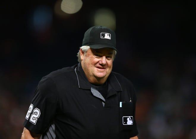 MLB umpire Joe West had a sense of humor about a Minnesota steakhouse's braille menu prank.
